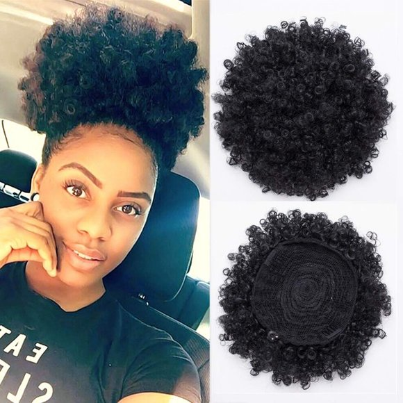 BEIRA Synthetic Afro Puff Drawstring Ponytail